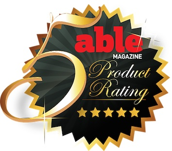 Mountain Trike 5 star product rating from Able Magazine