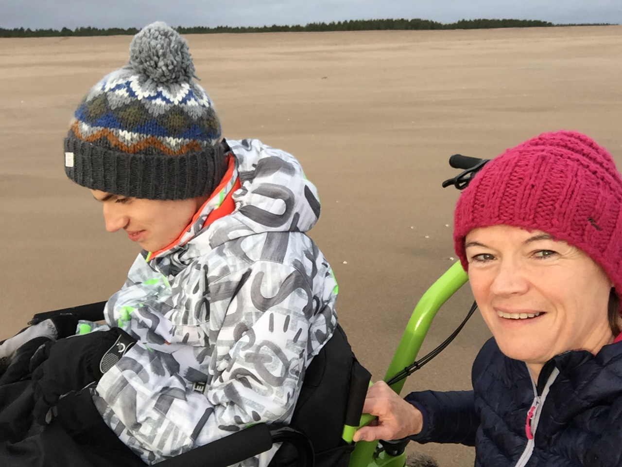 MT Push: the perfect family all terrain outdoor attendant wheelchair