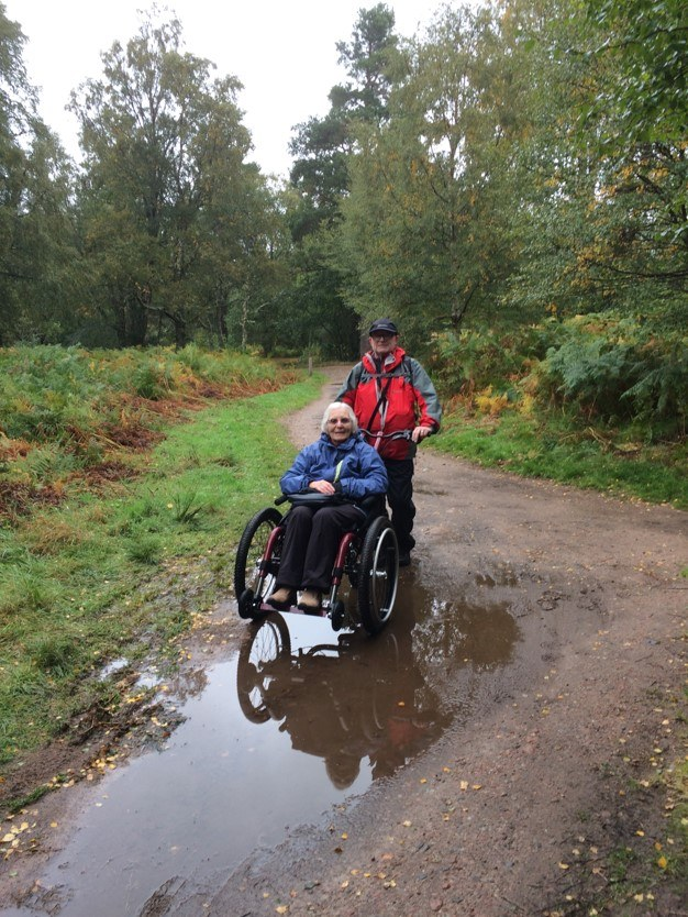 Off road wheelchair Mountain Trike