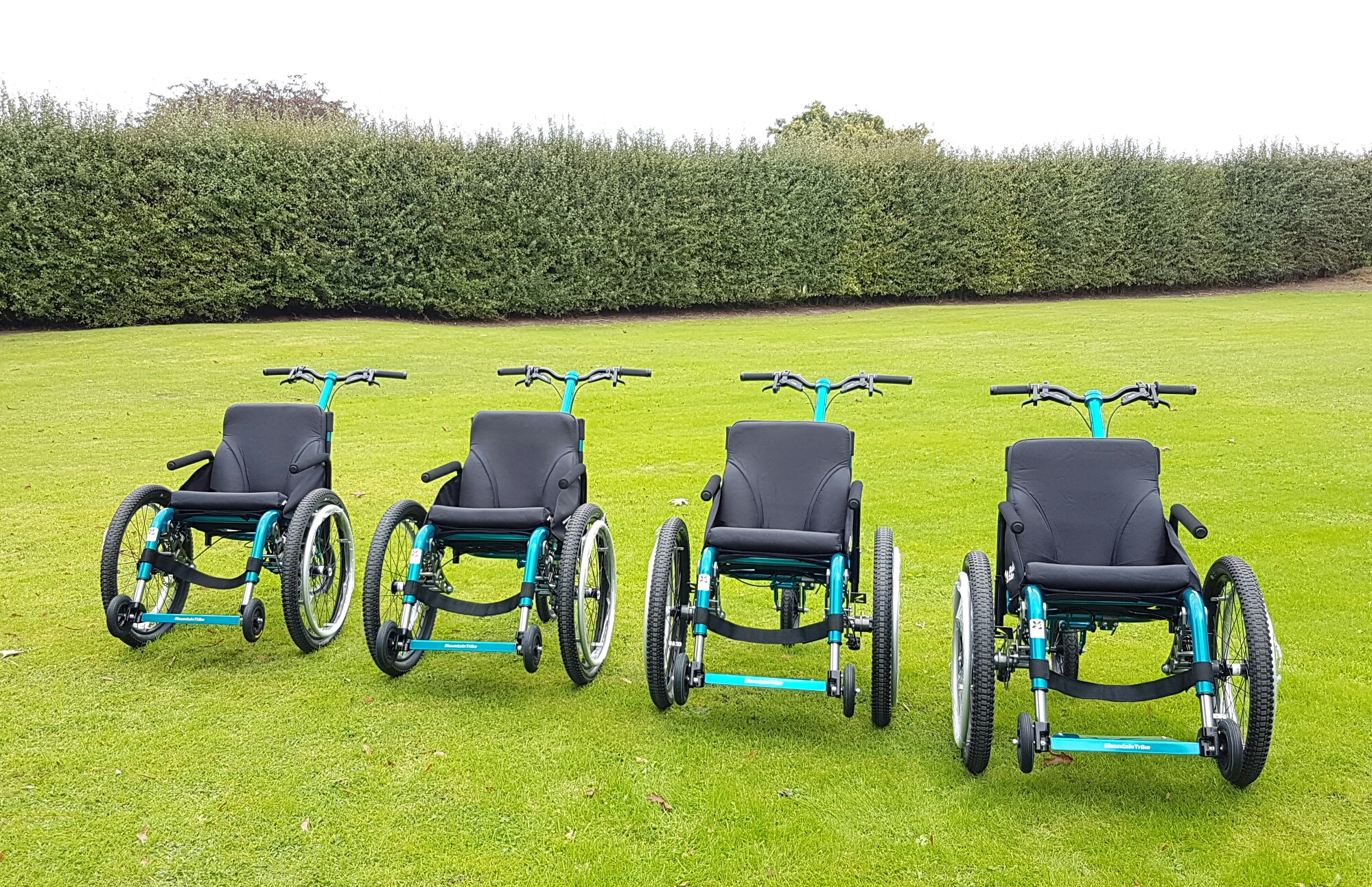 Enjoy National Trust days out with the MT Push all-terrain wheelchair – for FREE
