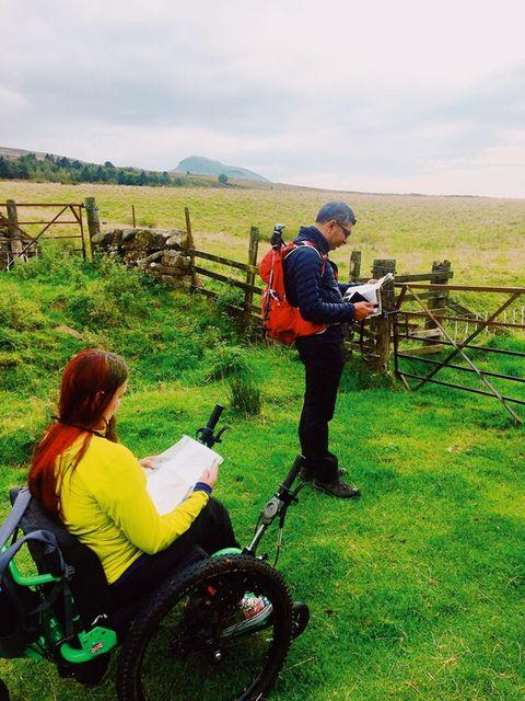 Mountain Triker, Laura discusses the highs & lows of her Lowland Leader training as a wheelchair user