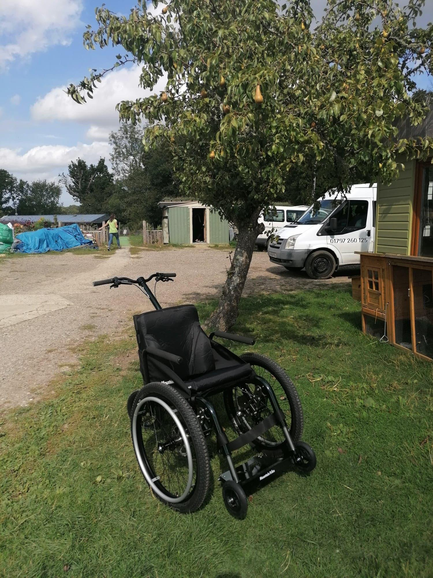 Little Gate Farm respite centre delighted with their all terrain wheelchair