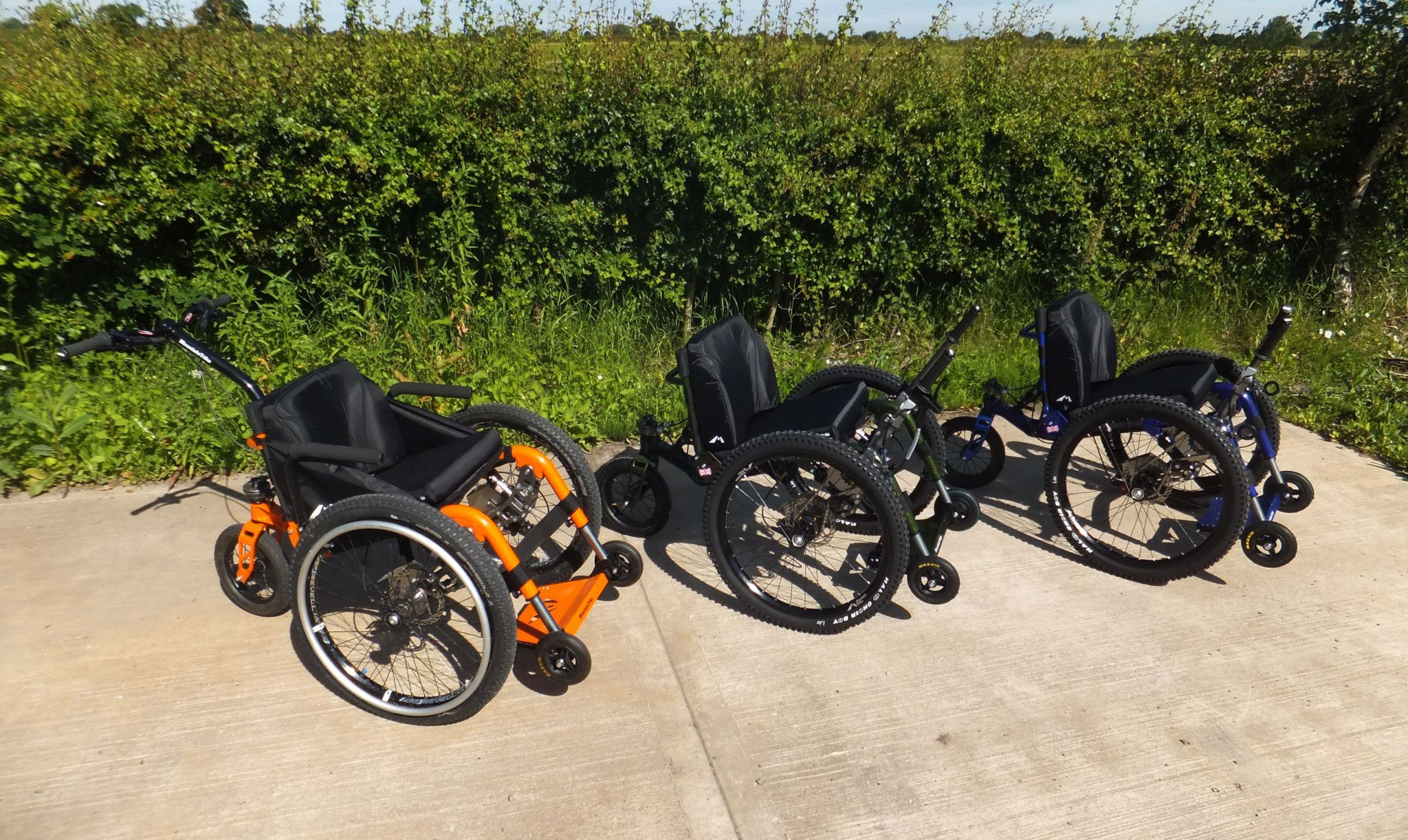 MS Life 2016, ExCel, London - come and see the… | Mountain Trike