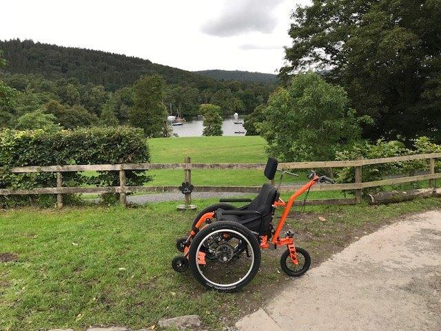 All terrain wheelchair access now available at Fell Foot National Trust