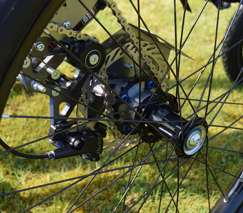 How to bleed your Mountain Trike wheelchair dual brakes