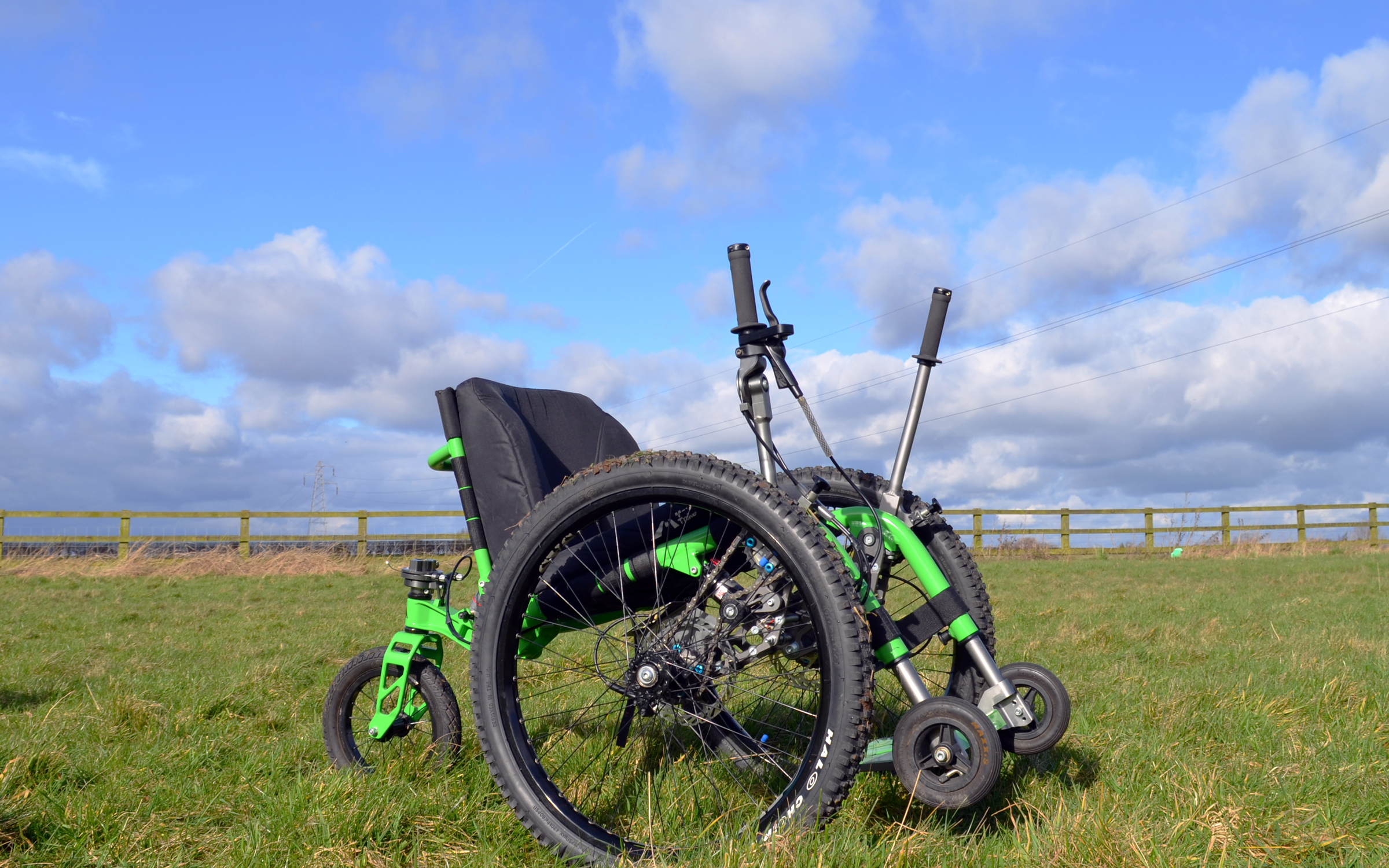 Outdoor wheelchair - The Mountain Trike