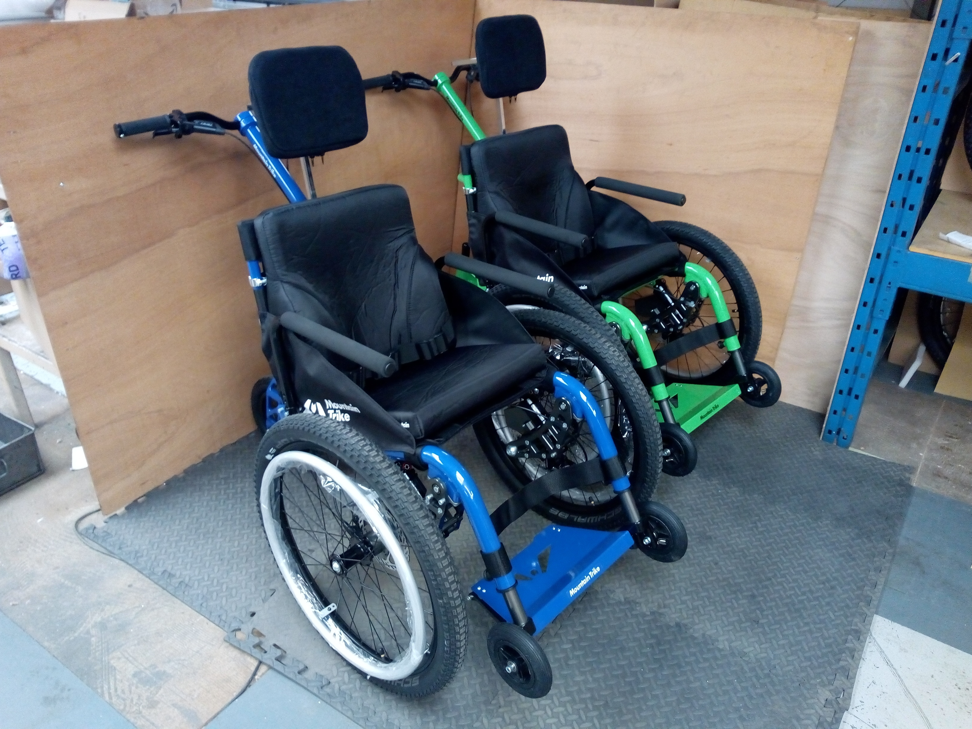 MT Push all terrain wheelchair