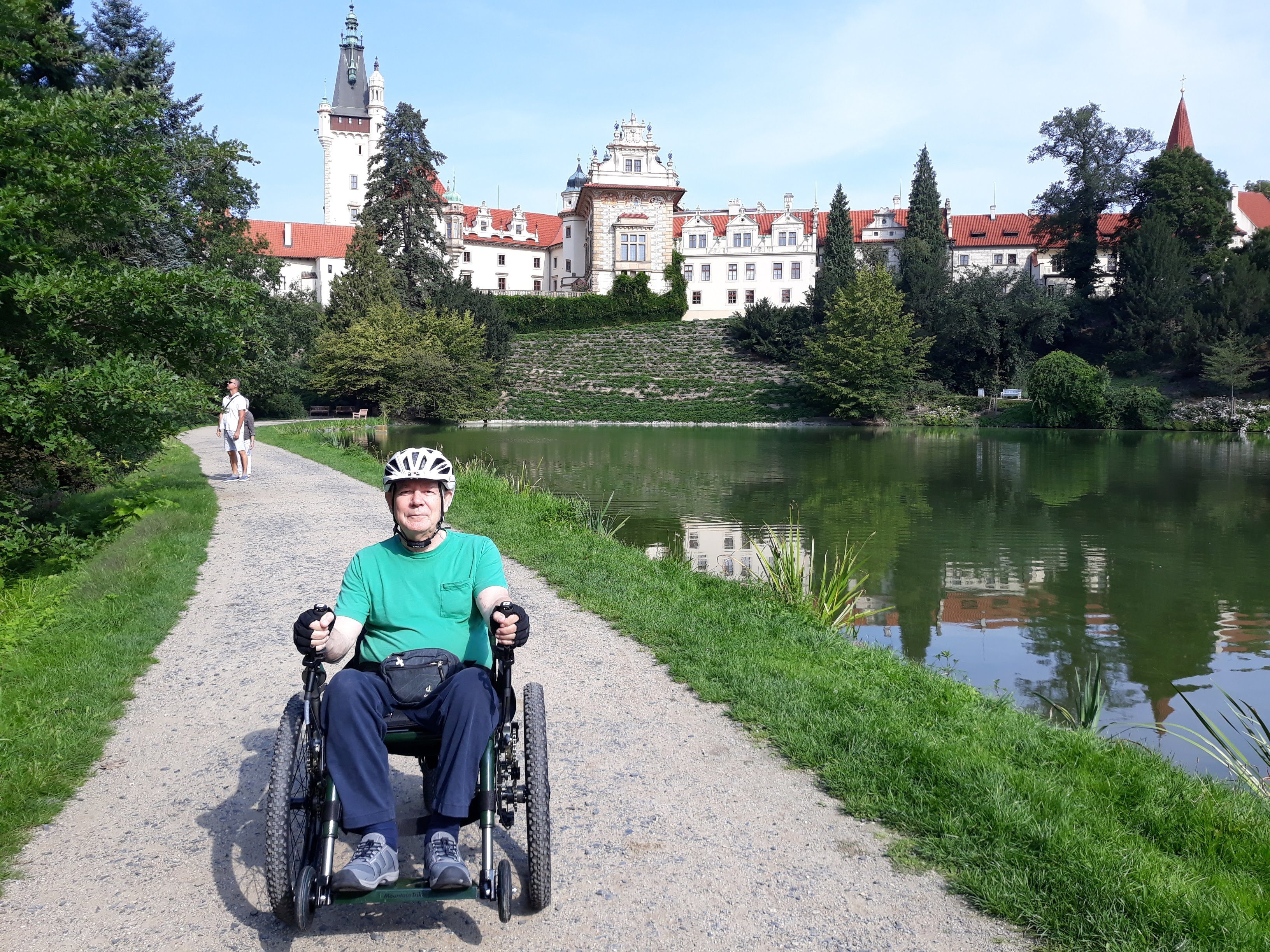 Richard Robertson, Czech Republic, Mountain Trike
