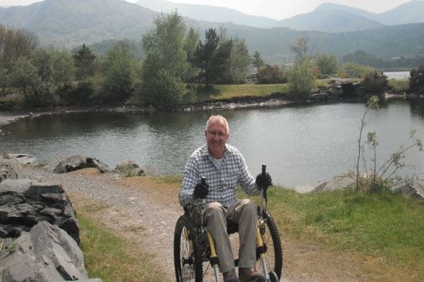 Richard Brooks, UK, Mountain Trike customer eTrike feedback