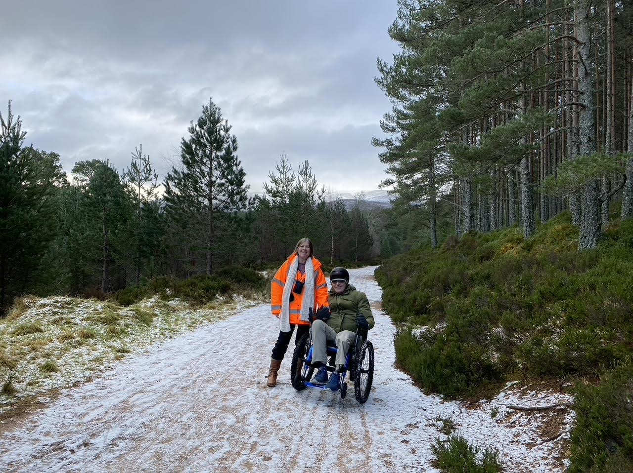 Mountain Trike all terrain wheelchair with eKit