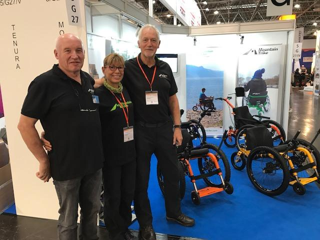Mountain Trike at Rehacare 2018
