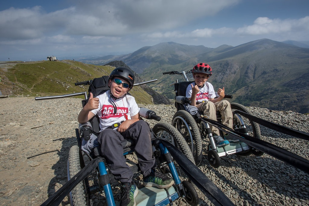 Snowdon challenge - a first for our MT Push all terrain attendant wheelchairs