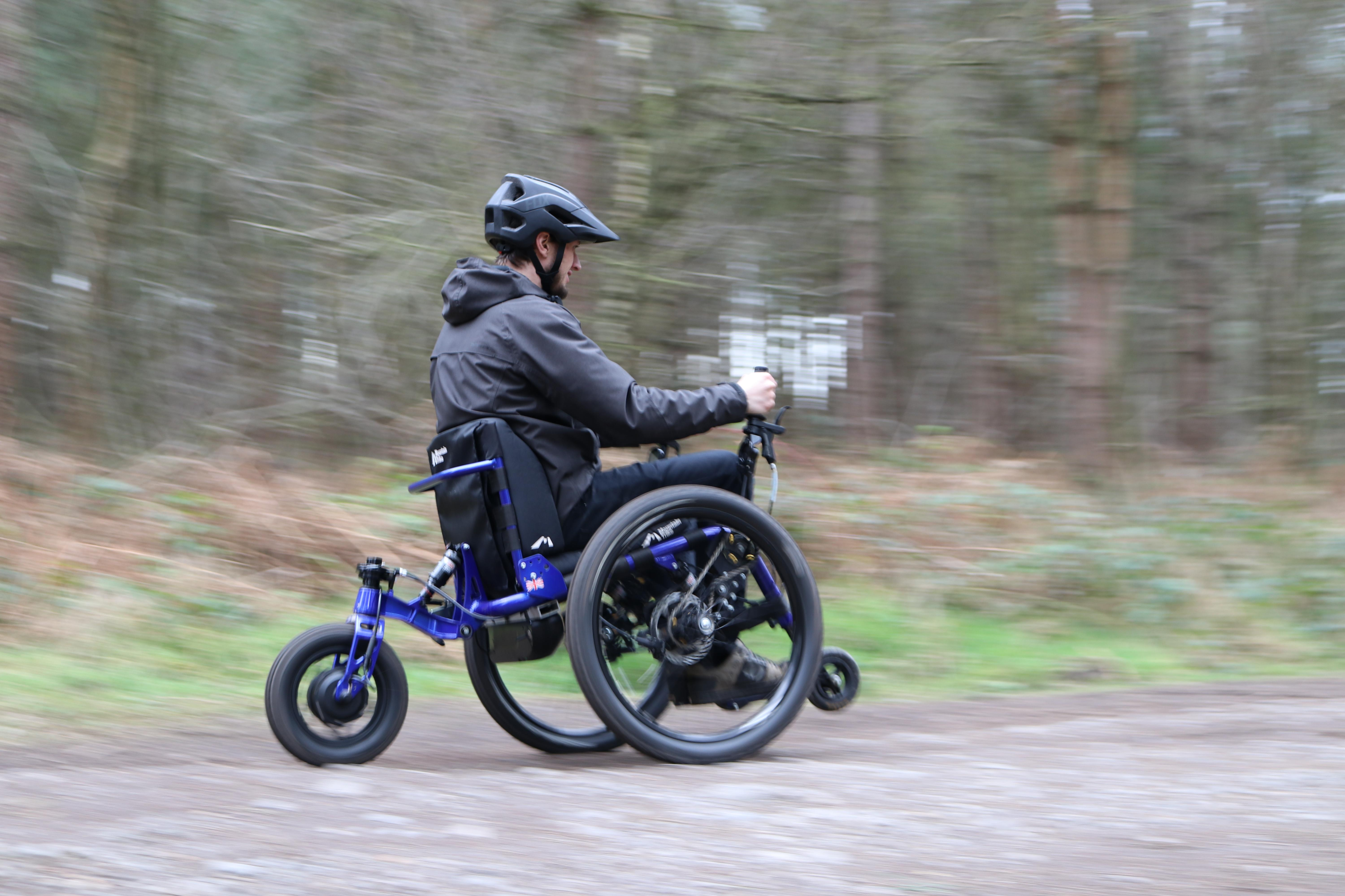 eTrike - power assist Mountain Trike wheelchair