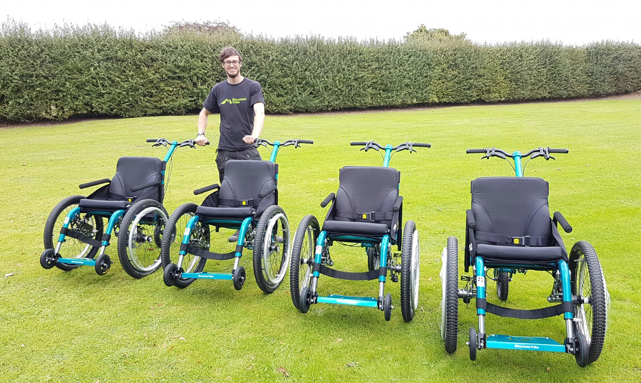 Tim Morgan MD Mountain Trike MD Tim Morgan hoping to expand his off road all terrain wheelchair business & Mountain Trike the off-road wheelchair start-up lays | Mountain Trike