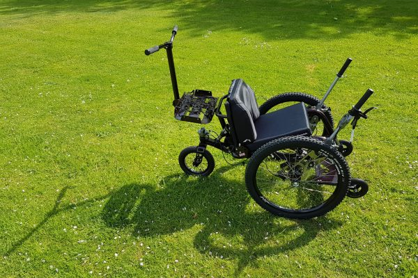 All terrain off road wheelchair - The Mountain Trike Media Pack