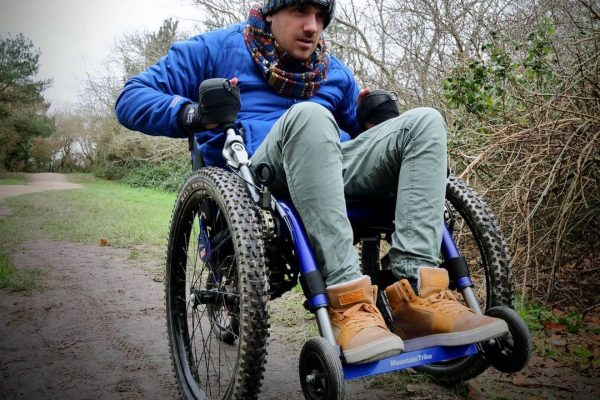 Ben from Adapt to Perform Mountain Trike video review