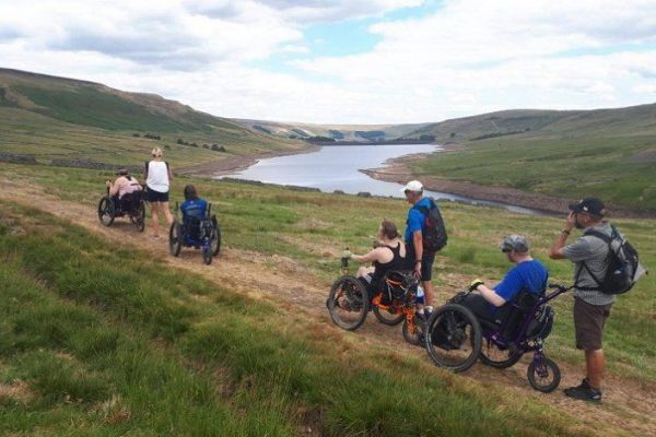 Enjoy Mountain Trike (all terrain wheelchair) rambles with an organised group