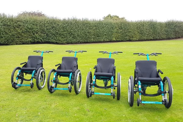National Trust Stourhead add all-terrain wheelchairs to their fleet of accessible transport