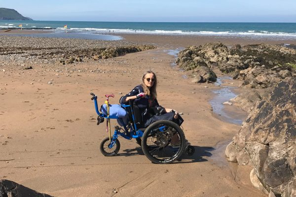 Mountain Trike customer Helen, explains to MS Matters magazine how her all terrain wheelchair helps her enjoy the outdoors