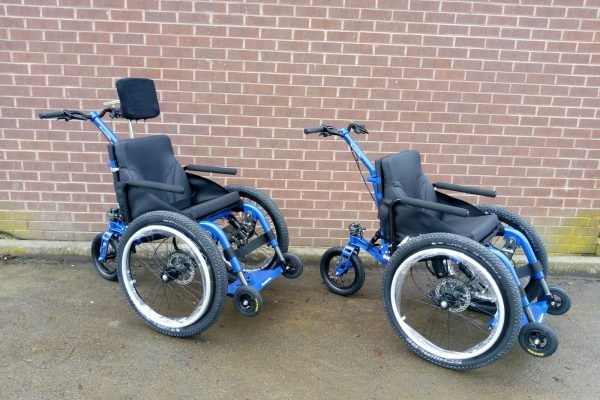 MT Push all terrain attendant wheelchairs now available at Hughenden National Trust in Bucks
