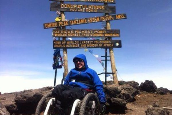 Nantwich wheelchair firm helps less-able climber achieve world first
