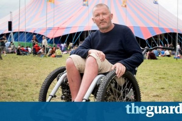 Festival season: Glastonbury shows its access all areas with Mountain Trike wheelchair