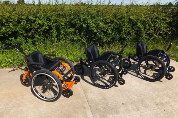 Gizmag:  new all-terrain wheelchair products