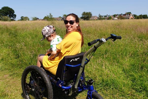 Testing the MT Push electric assist all terrain wheelchair