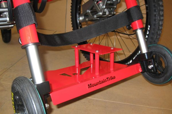 How to adjust the Mountain Trike wheelchair footrest -  video