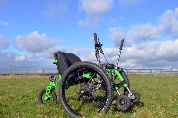Hire a Mountain Trike wheelchair  - perfect for a field trip