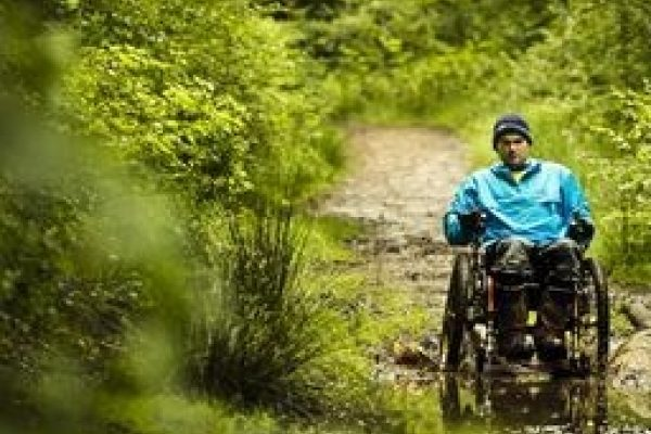 Mountain Trike wheelchair rider hints and tips