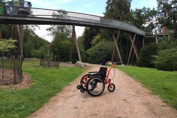 Westonbirt Arboretum adds MT Push, all terrain wheelchair to it's wheelchair fleet
