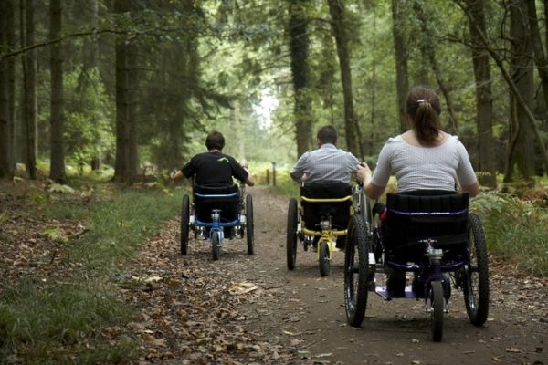 All-terrain wheelchairs to open up Ferry Meadows in Peterborough to visitors