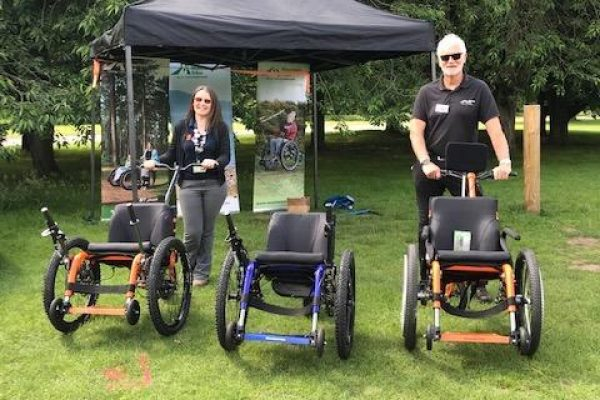 Mountain Trike attend Disability Awareness and Accessible Day at National Trust Clumber Park