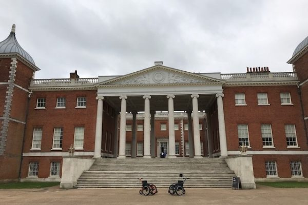 New all terrain wheelchairs for National Trust Osterley Park