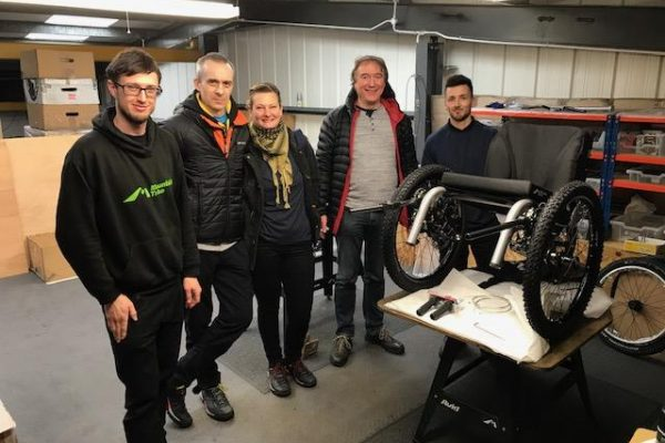 New distributor for the Mountain Trike all terrain wheelchair products in the Czech Republic