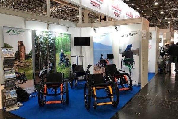 Successful Rehacare event for the Mountain Trike Company