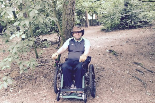 Watch as the eTrike, all terrain wheelchair tackles some tough terrain