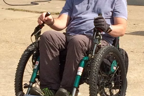 Video: customer Steve putting his eTrike to the test on some tough terrain