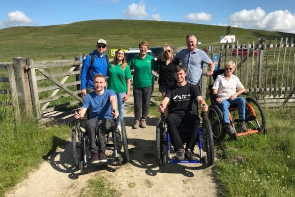 Accessibility and the Mountain Trike all terrain wheelchair on the Trans Pennine Trail