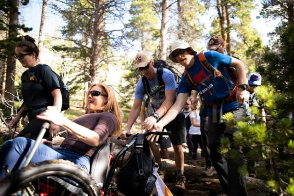 No Barriers - US Rocky Mountain adventure using Mountain Trike wheelchair