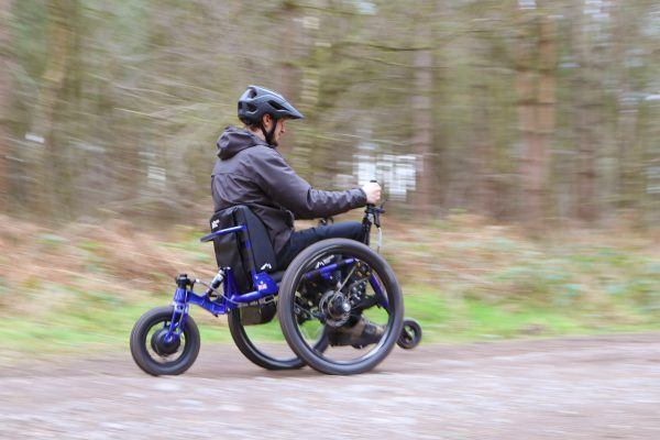 Video: Introducing our eTrike - electric power assist all terrain mountain trike wheelchair