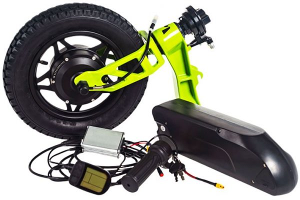 eKit - enables your lever drive Mountain Trike to have electric power assist