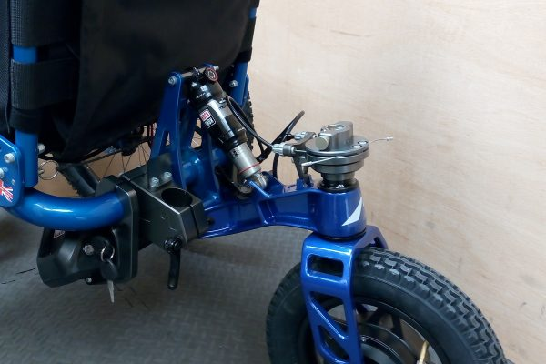 Video: How to fit the eKit to the Mountain Trike all terrain wheelchair