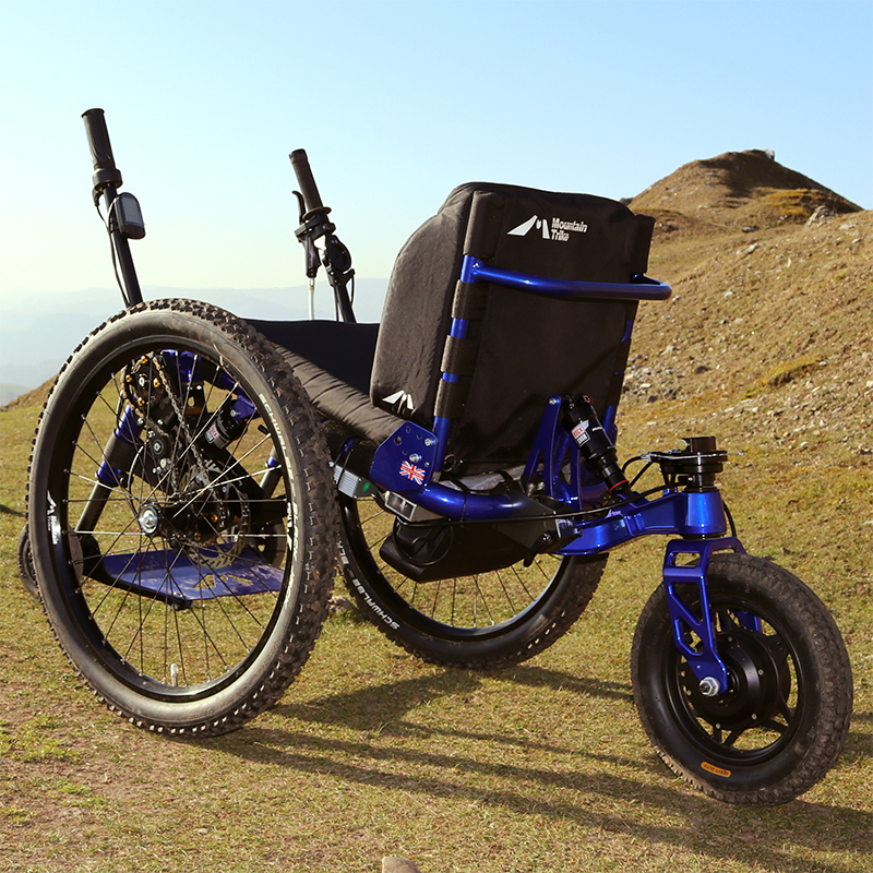 The wait is over - UK customers take delivery of their eTrike - electric power assist all terrain wheelchairs
